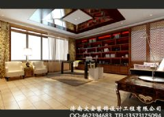 书房设计图,书房效果图,书房实景图,书房样板间,书房设计,书
