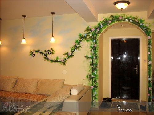 装饰门框的艺术 作品 家居设计图库 效果图,实景图,样板间,