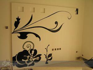 影视墙 作品 家居设计图库 效果图,实景图,样板间,建筑设计师,