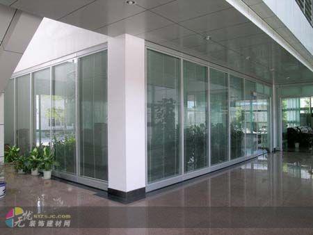 办公高隔间装修效果图 济南高隔间 济南惠民建筑装饰设计工程有限公