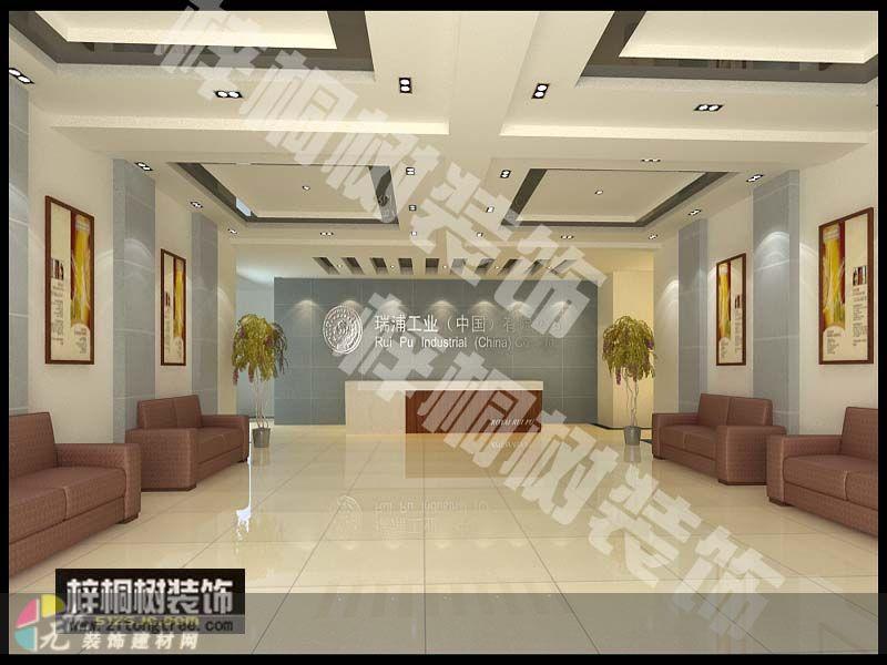 b029 办公室 济南梓桐树装饰设计工程有限公司作品 效果图,实景
