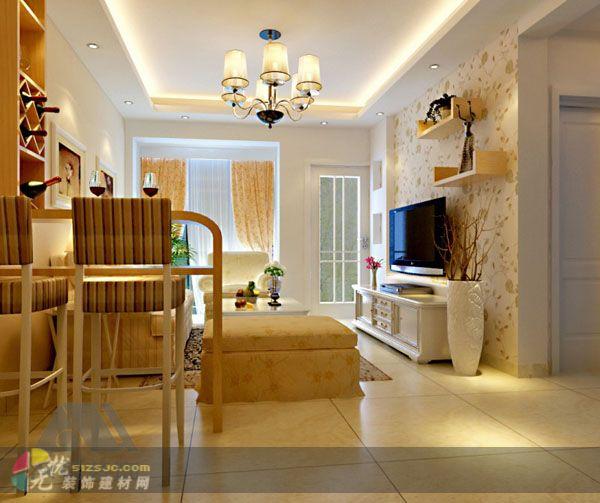题 南宁台湾街三房两厅室内装修设计案例高清图片